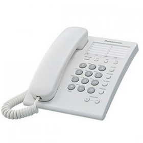 KX-TS550MLW Panasonic Single Line Telephone
