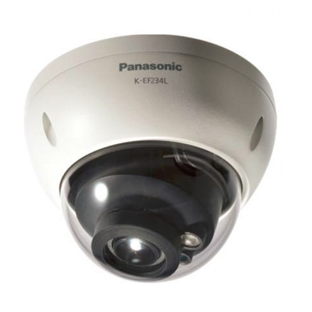 K-EF234L01E Full HD Weatherproof Dome Network Camera