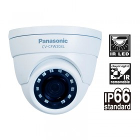 CV-CFW203L HD Analog Day/ Night Fixed IR Dome Camera